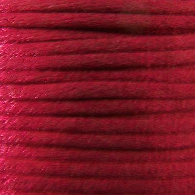 Rattail cord 2mm Red x 1m