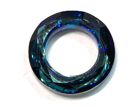 4139 Swarovski Elements® Ring - 14mm - Bermuda Blue