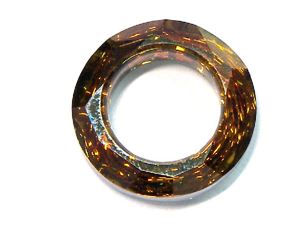 4139 Swarovski Elements® Ring - 14mm - Copper Cal