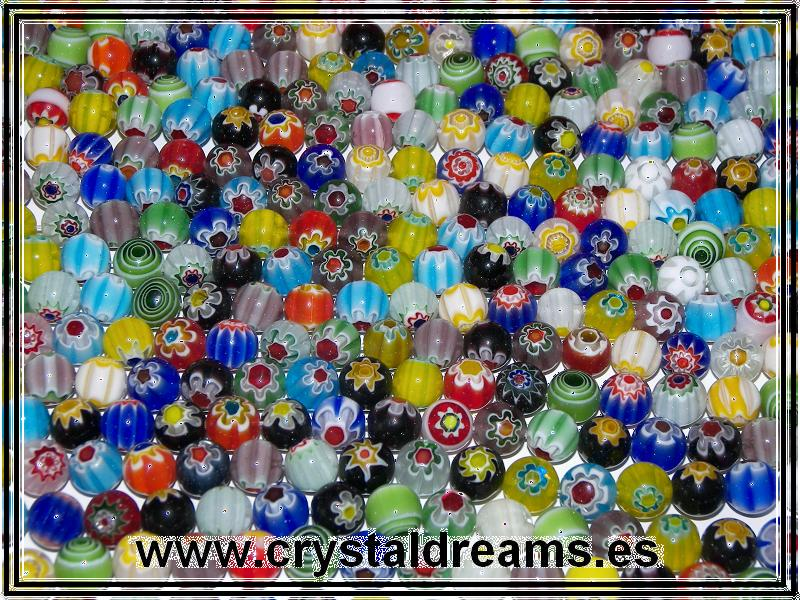 Murano Rounds 4mm Mix