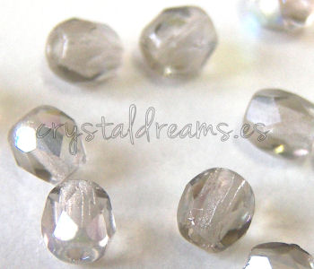 Facetadas 3mm BLACK DIAMOND AB