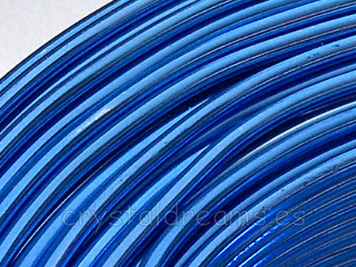 CABLE DE ALUMINIO - 2mm - BLUE x 1m