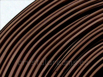 12 Metros de CABLE DE ALUMINIO - 2mm - BROWN