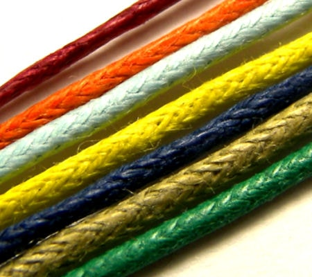 COTTON WAXED CORD