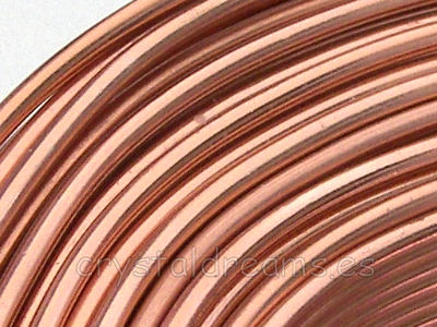 CABLE DE ALUMINIO - 2mm - COBRE LIGHT x1m