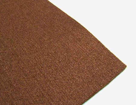 Plancha de fieltro - 3mm espesor - 60x40cm - Dark Brown