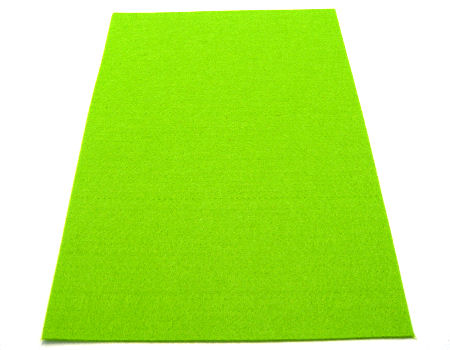 Plancha de fieltro - 3mm espesor - 45x30cm - Green
