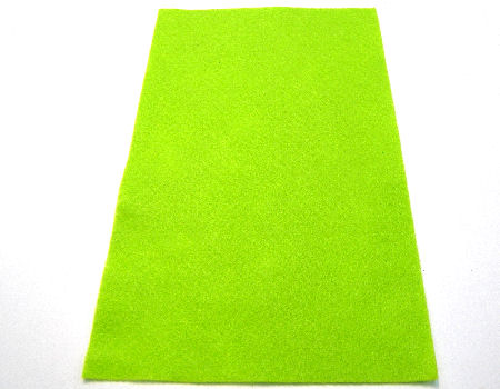 Plancha de fieltro soft 1mm espesor 20x30cm Light Green
