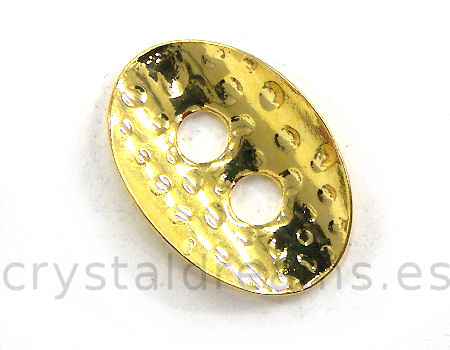 Calabrote 13x10mm - Agujeros: 2,5mm - Golden