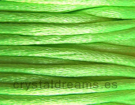 Cola de ratón 2 mm x 1 metro Fluor Green
