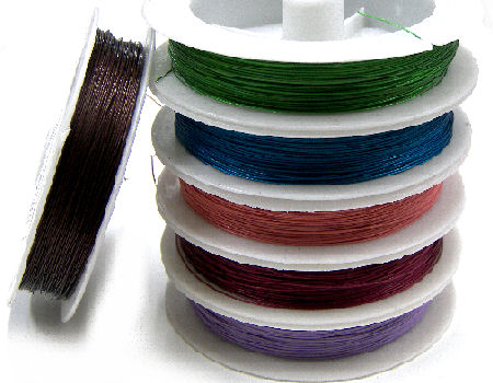 BEAD STRINGING WIRES