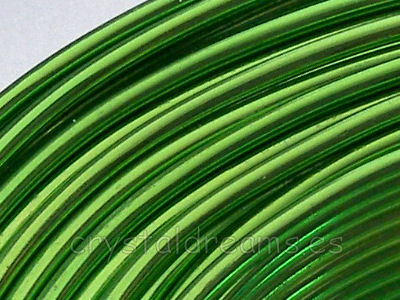 CABLE DE ALUMINIO - 2mm - LIGHT GREEN x 1m