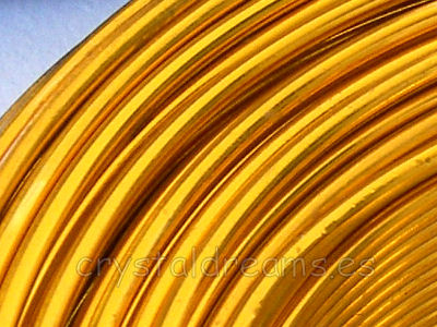 CABLE DE ALUMINIO - 2mm - LIGHT TOPAZ x 1m