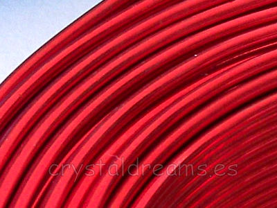 CABLE DE ALUMINIO - 2mm - RED x 1m