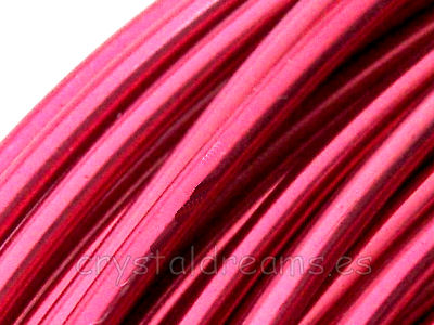 CABLE DE ALUMINIO - 1,5mm - ROSE x 1m