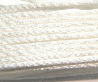 Sateen cord 1,5mm x 1m. White